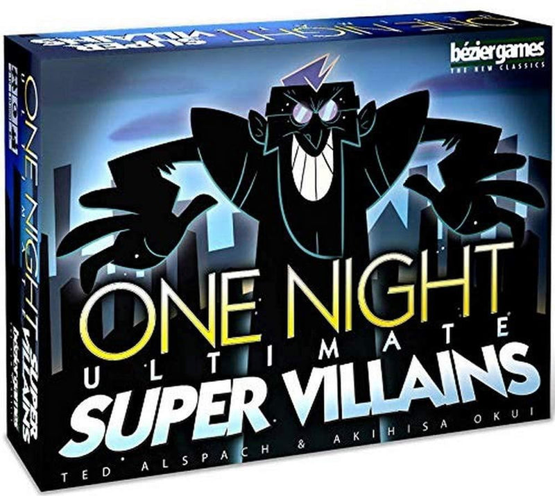 One Night Ultimate Super Villains Version Anglaise