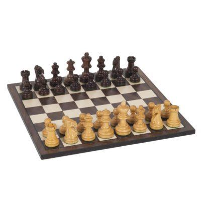 Staunton chess in rosewood 12in.