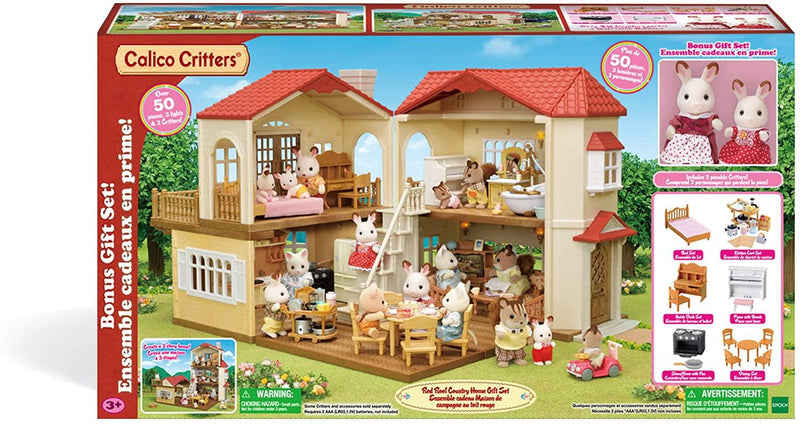 Calico Critters Red-roofed country house