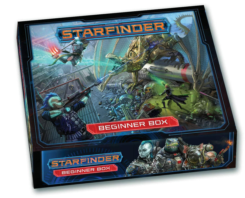 Starfinder Roleplaying Game: Beginner Box  Version Anglaise
