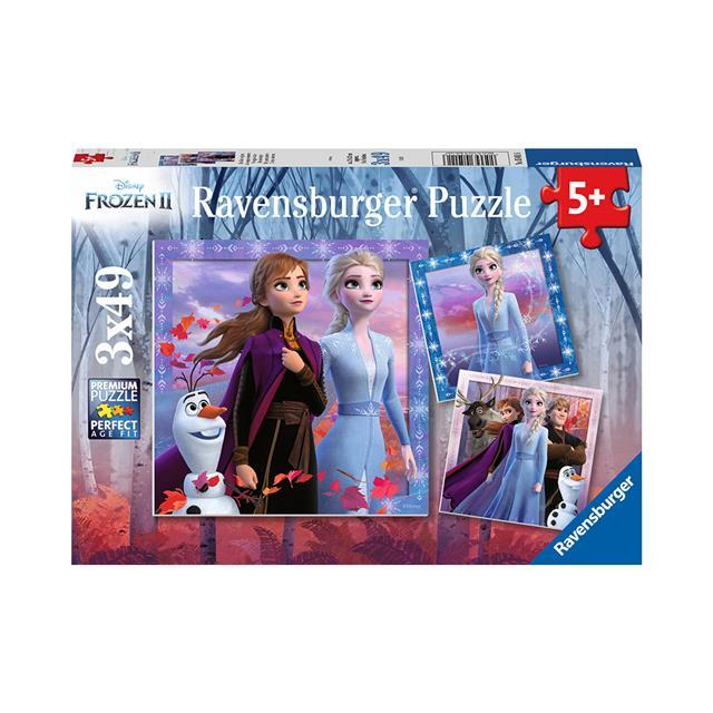 Ravensburger 3x49p Disney Frozen 2