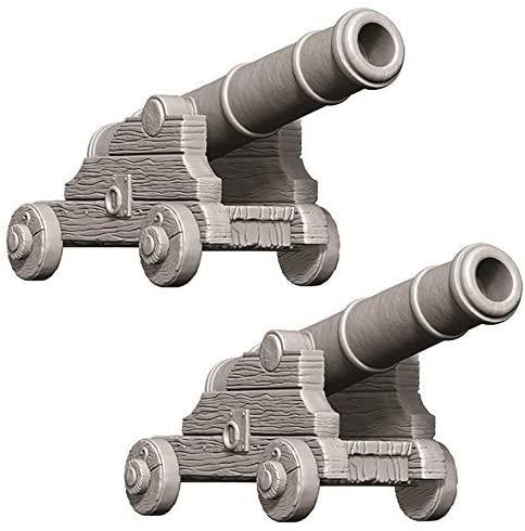 D&D Deep Cuts Unpainted Miniatures: Cannons