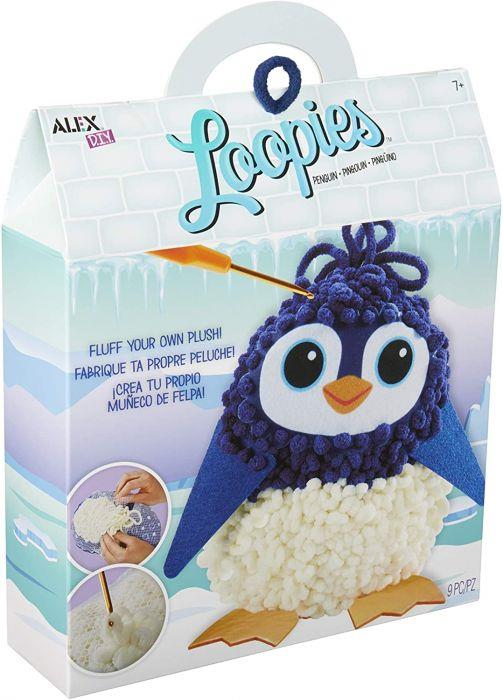 DIY Loopies - Penguin
