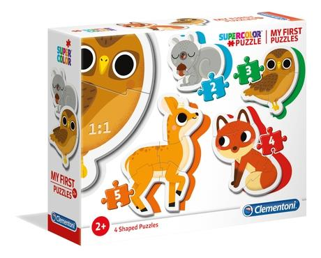 Clementoni Forest Animals - 3 - 6 - 9 - 12 pieces - My first puzzle