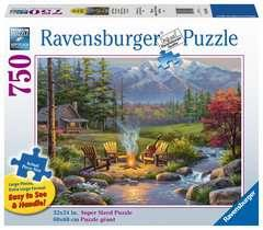 Ravensburger 750p Salon Au Coin Du Feu