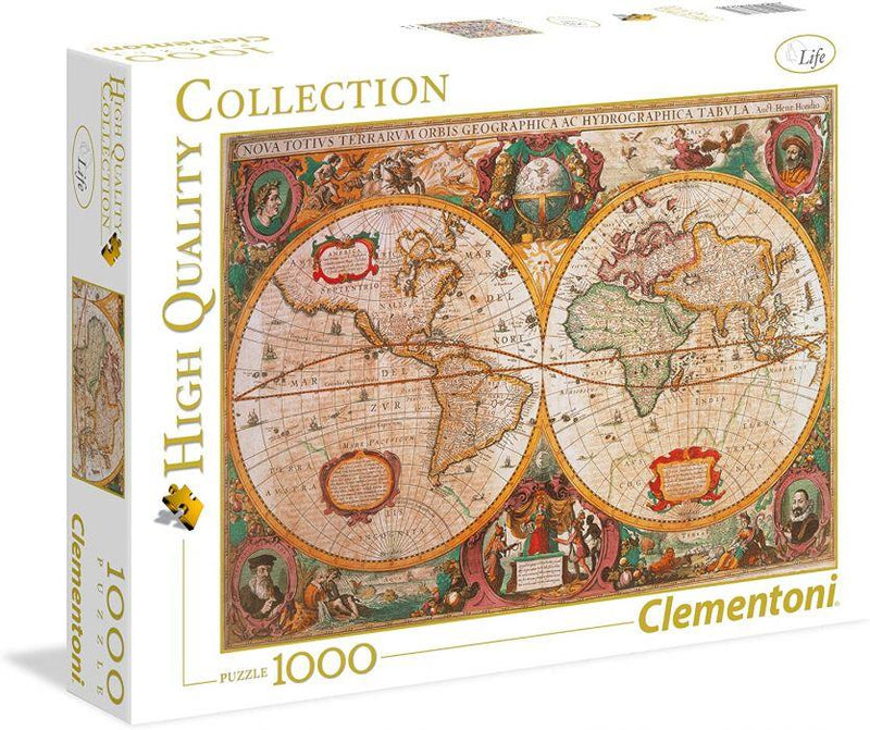 Clementoni 1000p Carte Antique