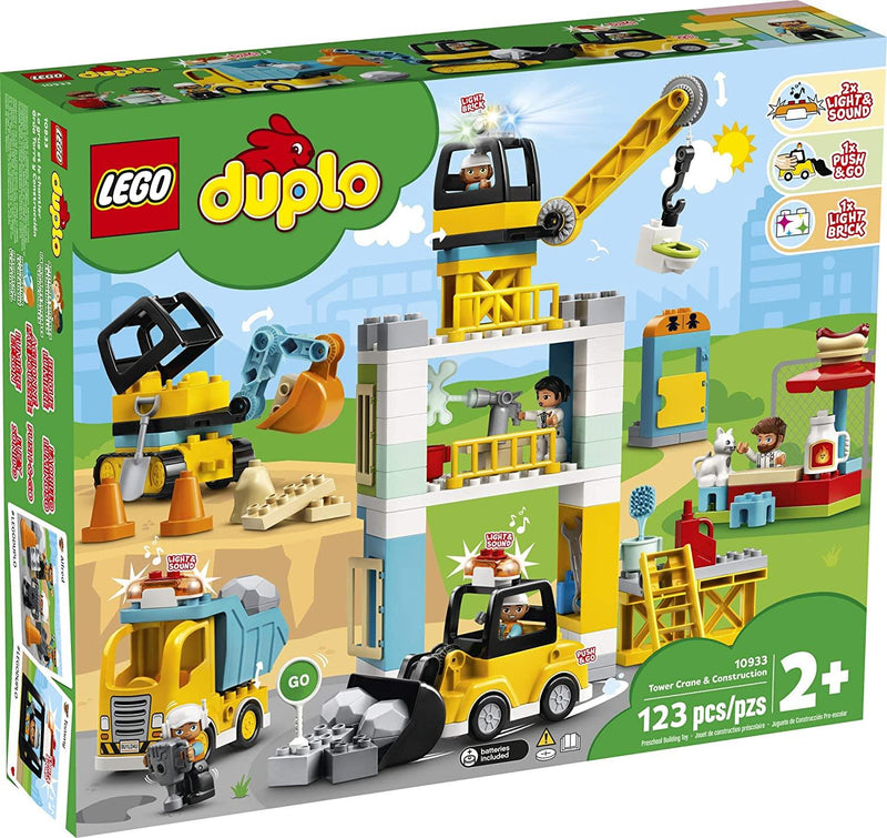 Lego Duplo Construction Grue à tour & construction