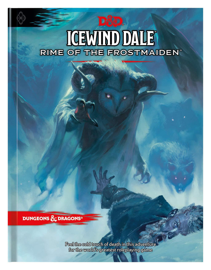Livre D&D Icewind Dale: Rime of the Frostmaiden Version Anglaise