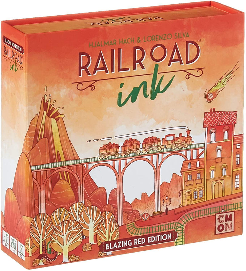 Rail Road Ink Blazing Red Edition Version Anglaise