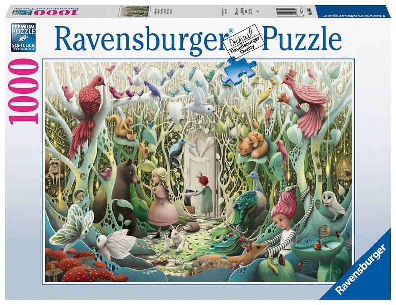 Ravensburger - 1000p: Jardin Secret