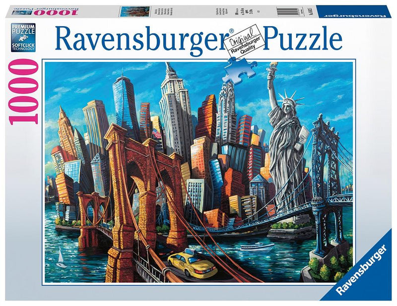 Ravensburger - 1000p: Bienvenue à New York