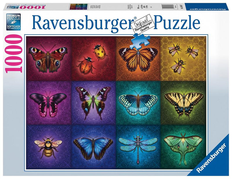 Ravensburger - 1000p: Choses Ailées