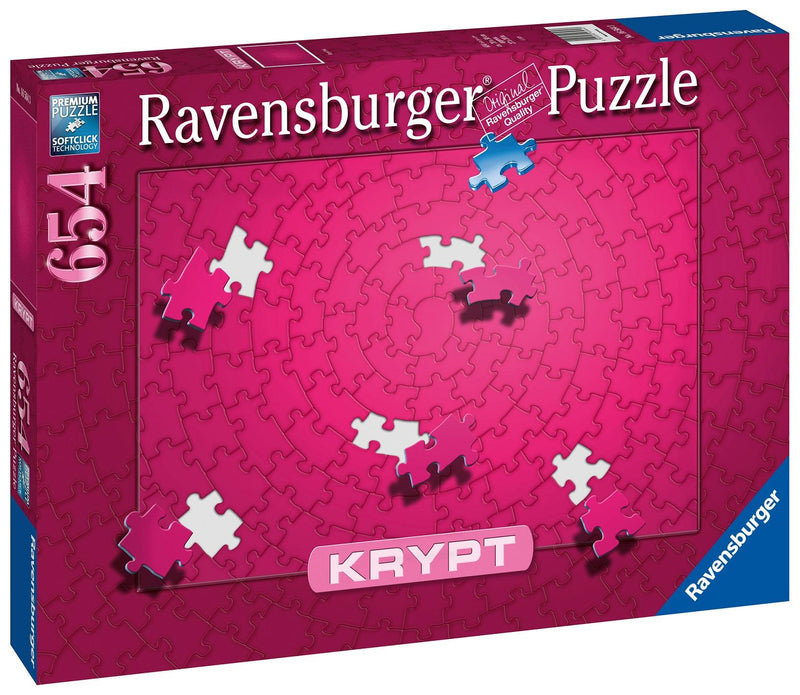 Puzzle Ravensburger 654P Krypt Rose