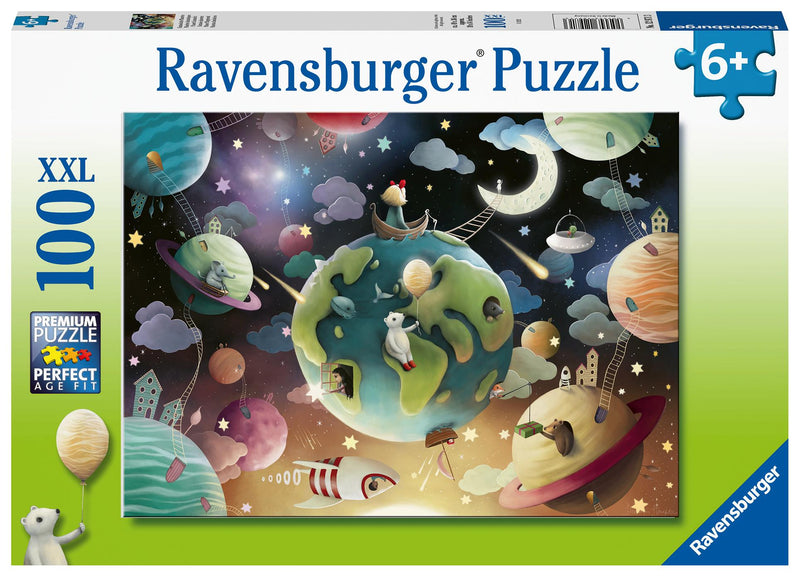 Puzzle 100P Ravensburger Planet Playground