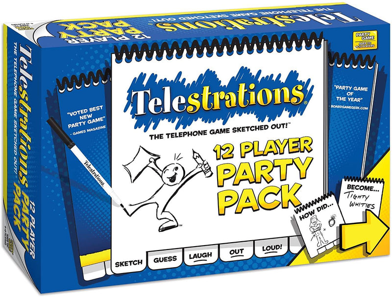 Telestrations - 12 Player Party Pack Version Anglaise