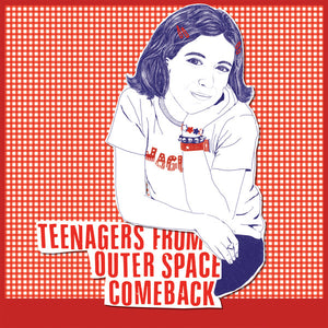 VÁRIOS | Teenagers From Outer Space Comeback (A Tribute to Bee Keeper) | VINIL | 2010 | CLT07