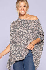 Lenny Leopard Brushed Tunic Top