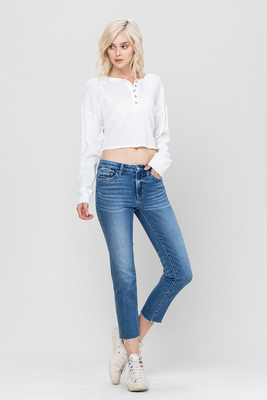 Bethany High Rise Straight Jean