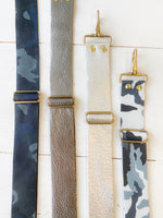 Real Leather Adjustable Bag Strap