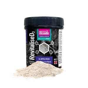 Arcadia EarthPro-Re-VitaliseD3 - Croydon Reptiles