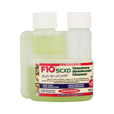 F10 SCXD Veterinary Disinfectant Cleanser - Croydon Reptiles