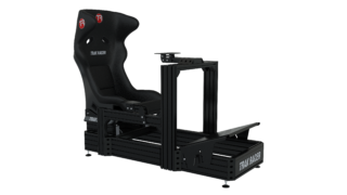 TR8020 Black TR160 160mm x 40mm Aluminium Cockpit with Wheel Deck and GT Style Seat