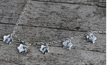 Load image into Gallery viewer, Fine Silver Flower Choker
