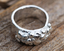 Load image into Gallery viewer, Fine Silver Textural Ring Chunky