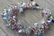 Load image into Gallery viewer, Swarovski Crystal Bridal Sterling Silver Bracelet