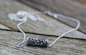 Swarovski Barrel Necklace