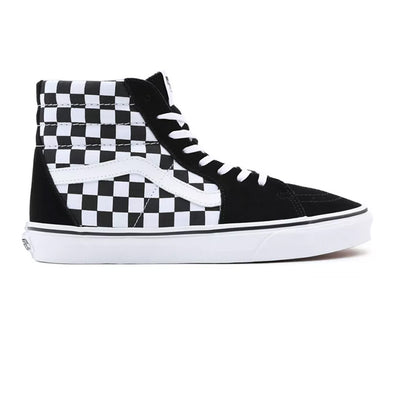 ZAPATILLAS VANS SK8-HI CHECKERBOARD BLACK-WHITE