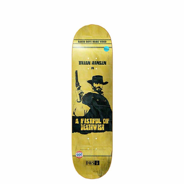 TABLA DEATHWISH BRIAN SLASH HANSEN VHS WASTELAND 8""
