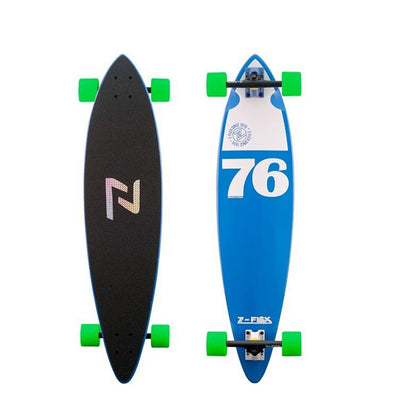 LONGBOARD PINTAIL Z-FLEX BLUE 38""