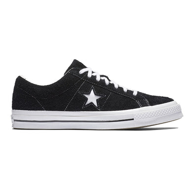 ZAPATILLAS CONVERSE ONE STAR PREMIUM SUEDE 158369C BLACK-BLACK-WHITE