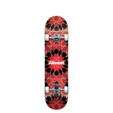 SKATEBOARD ALMOST TILE PATTERN 7.75""
