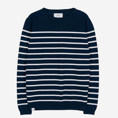JERSEY COASTAL KNIT NAVY