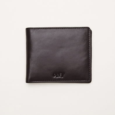 CARTERA OBEY VANDAL JUMBLE BI-FOLD WALLET BROWN