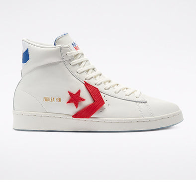 ZAPATILLAS CONVERSE PRO LEATHER HI 170240C VINTAGE WHITE/UNIVERSITY RED/RUSH BLUE