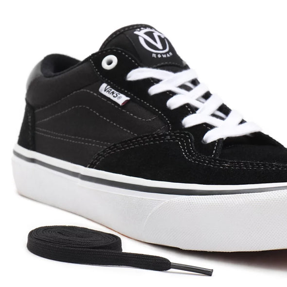 ZAPATILLAS VANS ROWAN PRO BLACK-WHITE