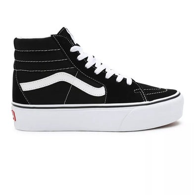 ZAPATILLAS VANS SK8-HI 2.0 PLATFORM BLACK/TRUE WHITE