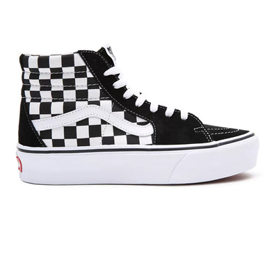 ZAPATILLAS VANS SK8-HI 2.0 PLATFORM CHECKERBOARD BLACK/WHITE