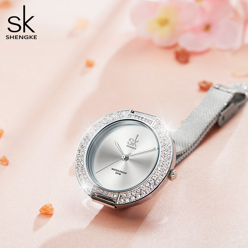 Women Watches Diamond Bracelet Wristwatch For Women