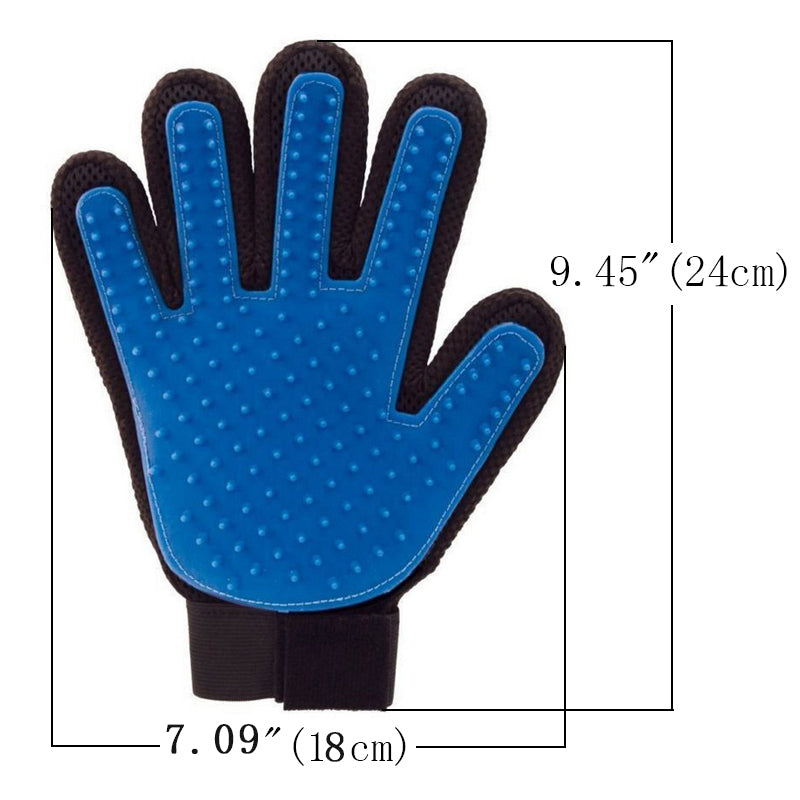 Pet Grooming Glove Brush Comb Cat Hackle Pet Deshedding  Gloves for Cat Dog Grooming