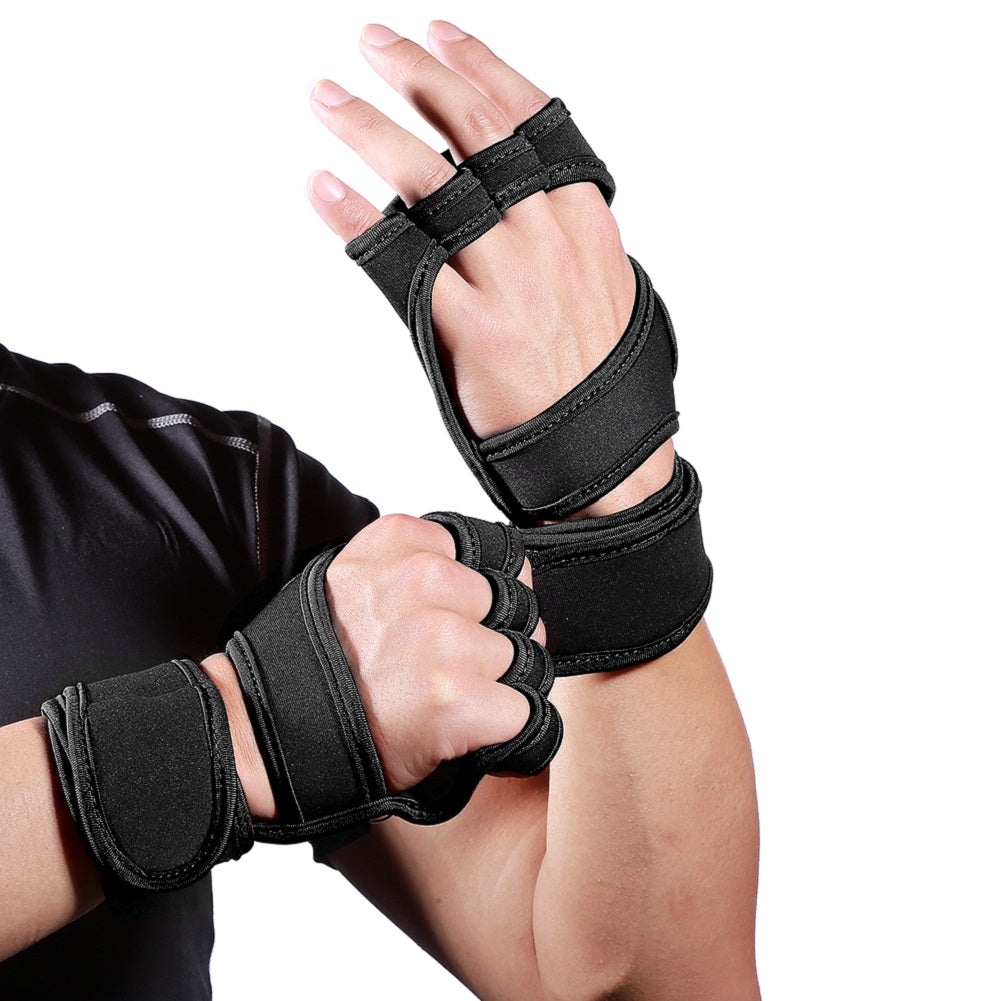 Gloves Fitness Protection Palm  Home Gym Workout