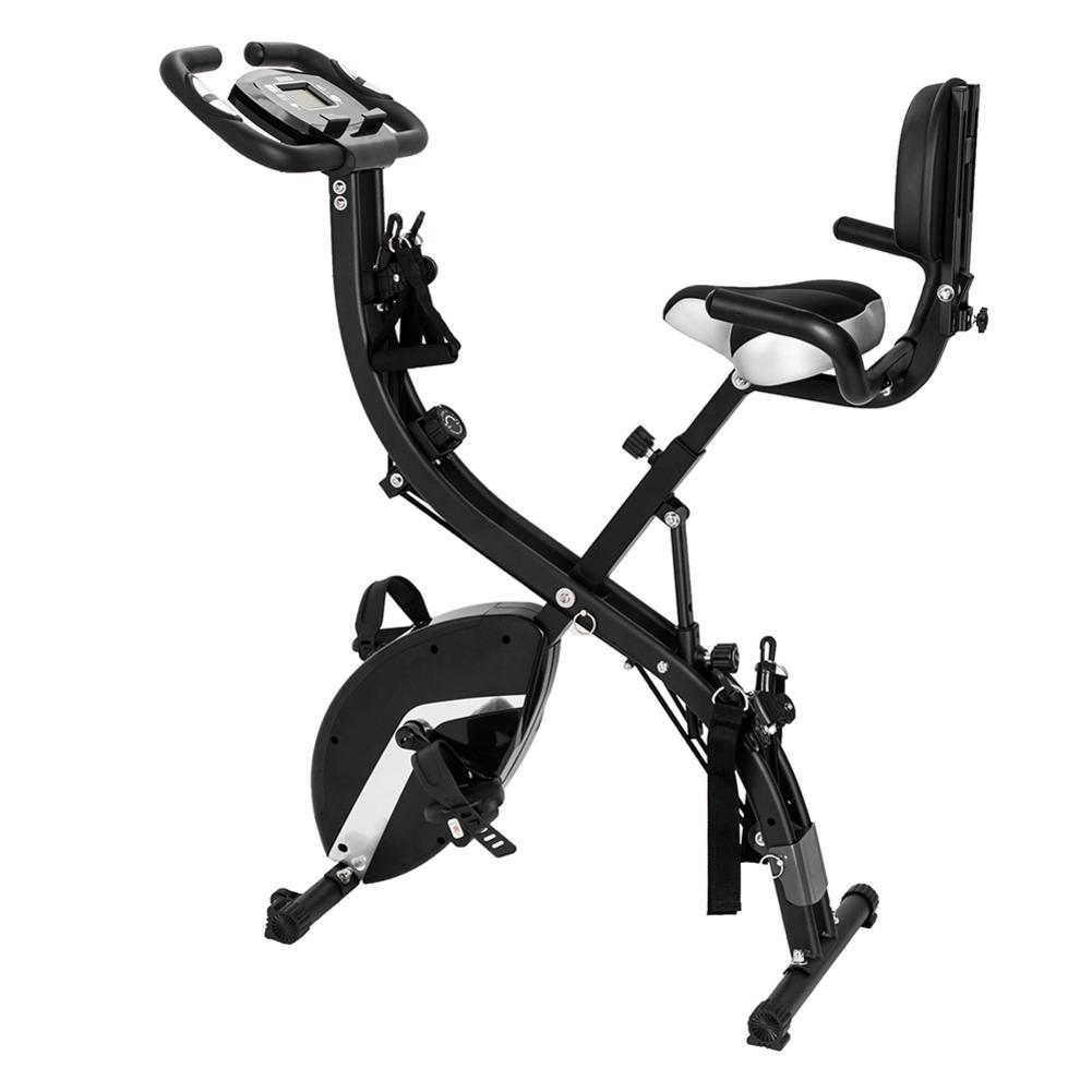 Indoor Cycling Bikes 3-in-1 Folding Upright Bike 120kg Load