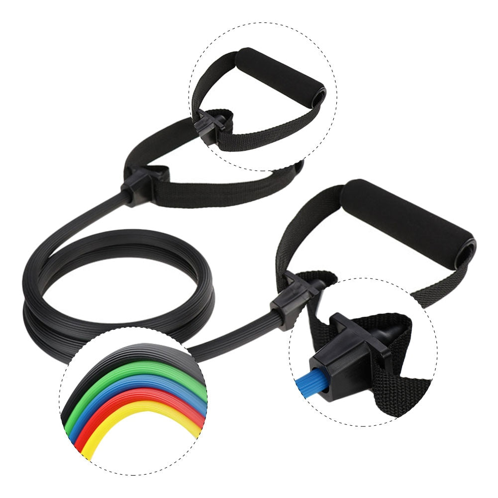 Fitness Resistance Bands Home Gym Workout