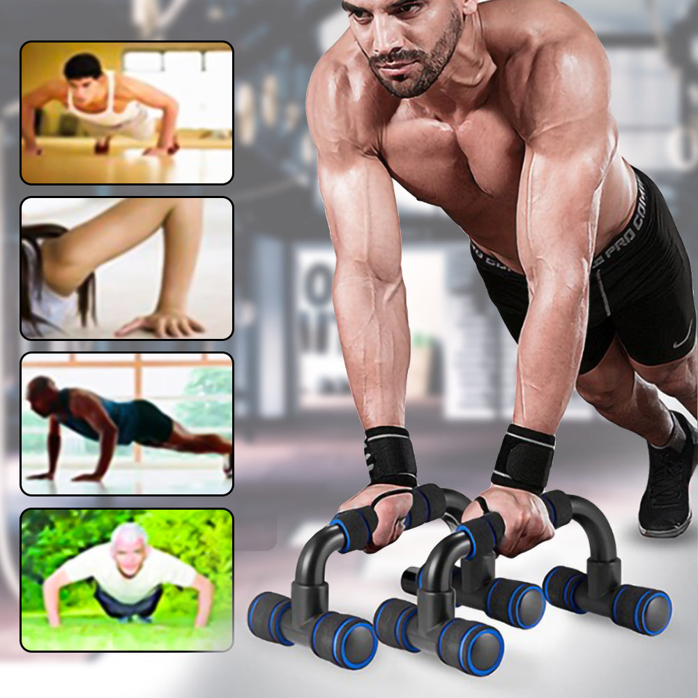 Fitness Push Up Bar Stands Home Gym