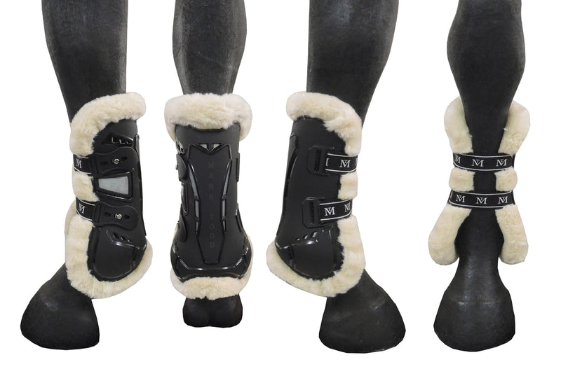 Mark Todd Air Vent Tendon Boot Fleece