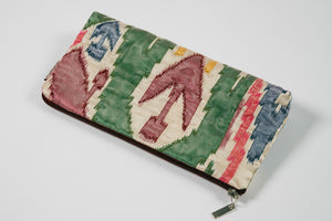 Oriental Handmade Viscose Clutch Bag With Topping For Her.