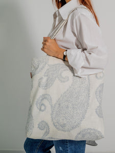 ECO-FRIENDLY PURE COTTON TOTE BAG FOR HER
